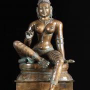 1 bronze bogashakti statue 2